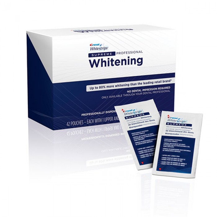 инструкция Crest Whitestrips Supreme Professional - фото 11